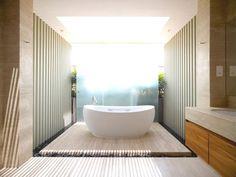 Bathroom full of daylight