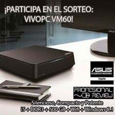 Consigue gratis un ordenador Asus VIVOPC VM60. Y participa en muchos más sorteos en www.zumbonazos.es y nuestras redes sociales.