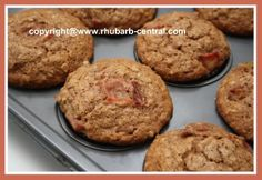 Easy Nutritious Rhubarb Muffins Recipe HERE! Healthy AND Deliciously Delicious!