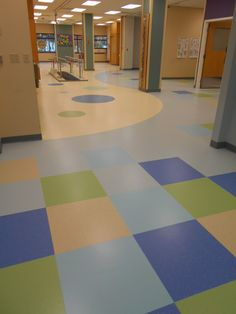 Our most recent work installed in Hartford Area. The product used was Mondo Rubber Tile. All inserts, shapes and sizes were hand cut on the job by our team.