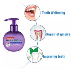 US$ 24.99 - Natural Intensive Whitening Toothpaste - m.dunpie.com