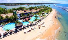 vista aérea do arraial dajuda resort eco, em porto seguro