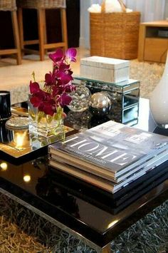 staging a coffee table at the cup of tea blog | crafts | pinterest