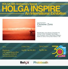 Don't Miss the Holga 30th Anniversary Exhibitions!