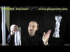 Braids Solution Math Movies, Mathematics, Life Lessons, Weave, Knot, Braids, Shit Happens, Math, Bang Braids
