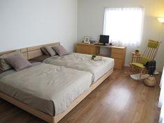 広い寝室は家族がみんなで寝る空間として理想的な形です! の画像|家具なび ~きっと家具から始まる家づくり~