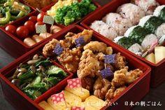 重箱を使ったお弁当の盛りつけテク③ 小物をうまく使って立体感を持たせる♡