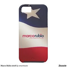 Marco Rubio 2016 iPhone 5 Cover