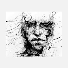 Agnes Cecile: Lines Hold The Memories Print