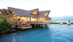over water bungalos at Tortuga Bay in Punta Cana? Add it to the list!
