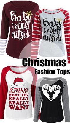 Christmas-Fashion Tops
