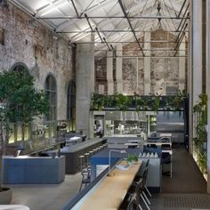 Table lamp by Chipperfield/Wästberg. Design+Office+converts+disused+power+station+into+restaurant+in+Melbourne