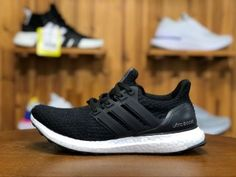 High Quality Adidas Ultra BOOST Running Shoes in www.nikesalezone,com, Designed with unique energy-returning boos technology, this technical running shoe features more boost cushioning material than ever before. Winter Running Shoes, Pink Running Shoes, Running Shoes For Men, Running Women, Adidas Ultra Boost Shoes, Adidas Pure Boost, Adidas Men, Adidas Sneakers, Core