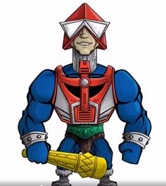 Mek-a-Nek from Masters of the Univers   He-Man
