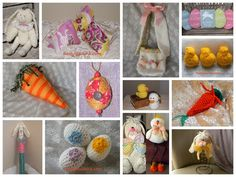 13 Easter Craft Tutorials and Patterns
