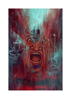 Canada-based artistMatthew Therrien has imagined horror icon Freddy Krueger in a way that might make ... Horror Icons, Movie Wallpapers, Nightmare On Elm Street, Freddy Krueger, Character Portraits, Watercolor Paper, Horror Movies, Scary Stuff, Art Prints