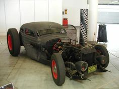One of the best Ratrods I've seen!