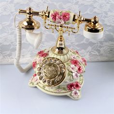Novelty Free Post pastoral antique telephones vintage antique ...