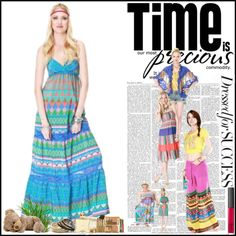 Bohemian Summer Dresses, created by flying-tomato on Polyvore