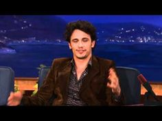 James Franco's Sex Tape Disaster on Conan...Love Conan's reaction at the end. :)