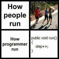 How programmers run...
