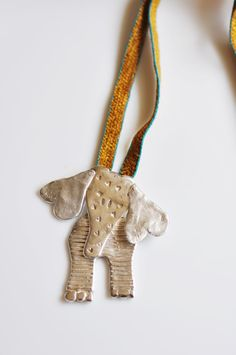 Silver Elephant  Necklace ...Africa