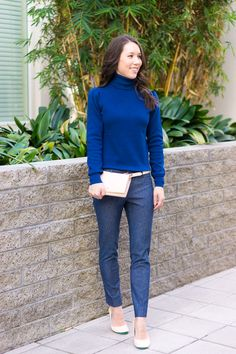 dda46d0269b How to Transition a Classic Sweater from Work to Weekend + 9 Affordable  Sweaters · Spring OutfitsWork OutfitsSpring Summer ...