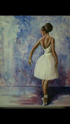 New dancing girl art pictures Ideas Black Love Art, Black Girl Art, Art Girl, Black Girls, Dance Photography, Artistic Photography, Ballerina Photography, African American Art, African Art