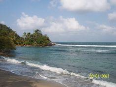Sapzurro beach front
