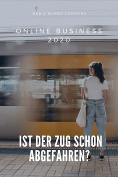 Online Business 2020 - Ist der Zug schon Abgefahren?#onlinebusiness #erfolg #onlinebusinessaufbauen #onlinebusinessideen #coaching #coachingberatung Coaching, Influencer, Content Marketing, Online Business, Website, Building, Train, Training, Buildings