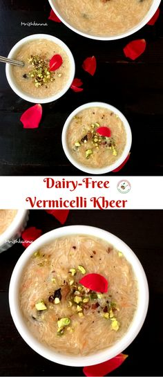 Welcome to Simple Sumptuous Cooking, a vegan cooking blog! Here's a quick recipe for Dairy Free Vermicelli Kheer.