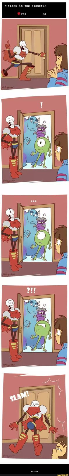 Undertale and Monster INC