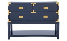 Palms Console - Blue - Casegoods - Furniture | Jayson Home