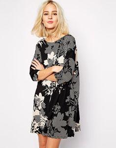 The Laden Showroom X Zacro Graphic Print Tunic Dress