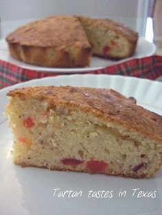 Scottish recipes - Cherry Cake
