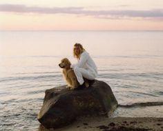 Bruce Weber : APC - kid with dog