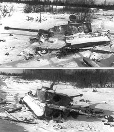 Tiger belonging to the s.Pz.Abt.502... thanks to Massimiliano Gerussi - Damaged, destroyed and captured vehicles WWI & WWII