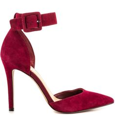 Cayna - Brava Red Suede by Jessica Simpson