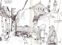Felix Scheinberger, Illustrator - Skizzen: Skizzen 2007