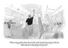 Die Mechanismen unserer Zeit in einem Bild: Der demokratisch gewählte Pilot