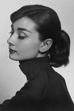 Audrey Hepburn...she's a classic and will NEVER go out of style.