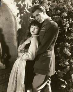 Gary Cooper and Colleen Moore in Lilac Time c.1928