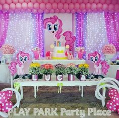 Fiesta temática my Little Pony | Decoración