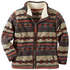"""2675965_Brown_Aztec%3Fwid%3D800%26hei%3D800%26op_sharpen%3D1 Best Deal """"Toddler Boy Nike Hooded Puffer Jacket"""