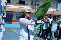 Parada cívica mobiliza Escola Inayá