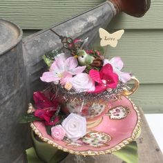 A personal favorite from my Etsy shop https://www.etsy.com/listing/531734989/garden-tea-party-shabby-chic-decoration