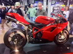 Check out the Chicago Progressive Motorcycle Show hosted every February at the Rosemont Convention Center! Can't come to Chicago? Check out the website for another city near you! Meanwhile, feel free to drool over this gorgeous Ducati!