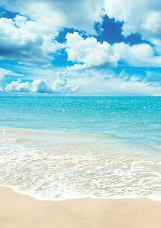 Ready for Vacation? Beautiful ocean, and just sitting on the beach watching this.Beautiful ocean, and just sitting on the beach watching this. Wall Stickers Ocean, Image Nature, I Love The Beach, Nice Beach, Pretty Beach, Pretty Pics, Sea Waves, Beach Scenes, Ocean Scenes