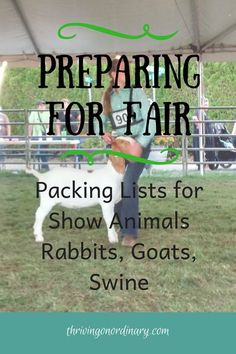 time taking an animal to fair? I've got packing lists for rabbits, goats and pigs. Be prepared for fair. show animal. FFA market animal, FFA show animal. Livestock Judging, Showing Livestock, Show Rabbits, Meat Rabbits, 4h Fair, Show Goats, 4 H Club, Pig Showing, Animal Projects