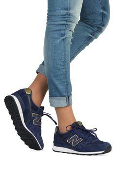 Blauwe New Balance schoenen 996 sneakers